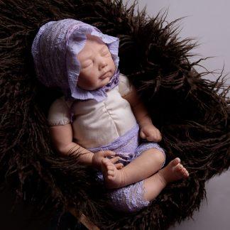 Newborn Set fliederfarben